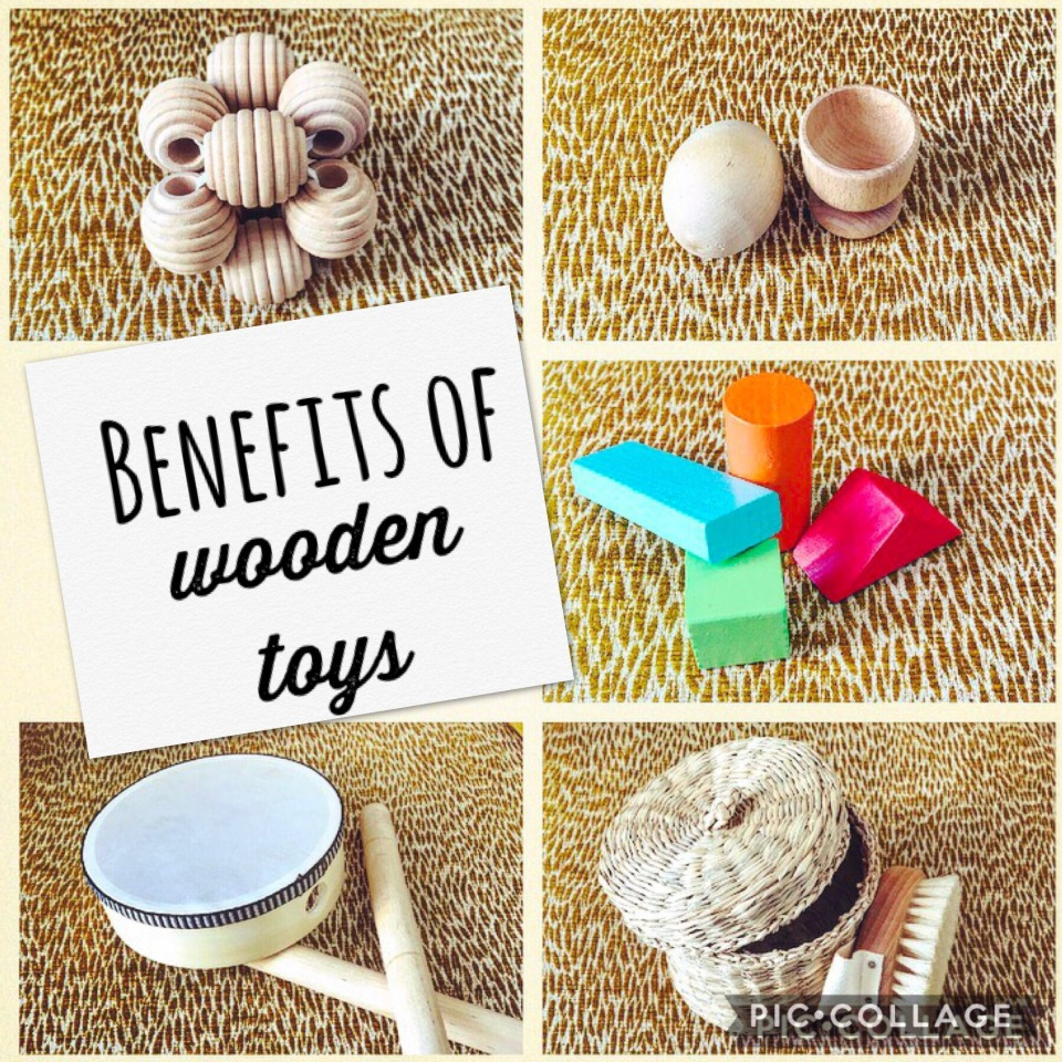 The benefits of wooden toys
