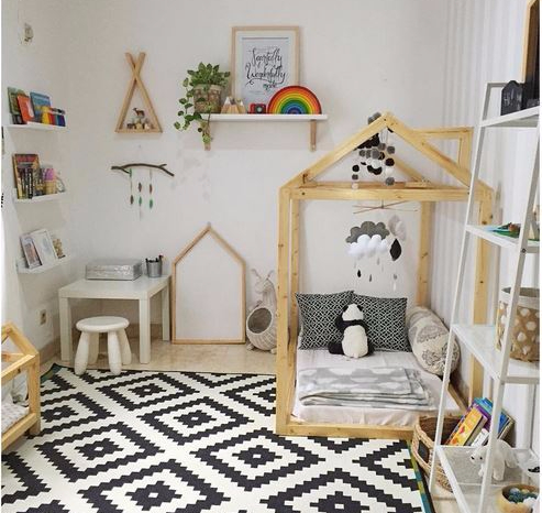 How to Create a Montessori Children's Room. 4 Key Principles to keep in mind when creating a montessori room.