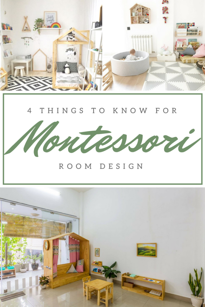 How to create the perfect Montessori Room at home. The four most important rules to keep in mind when designing a Montessori Space and creating a prepared environment