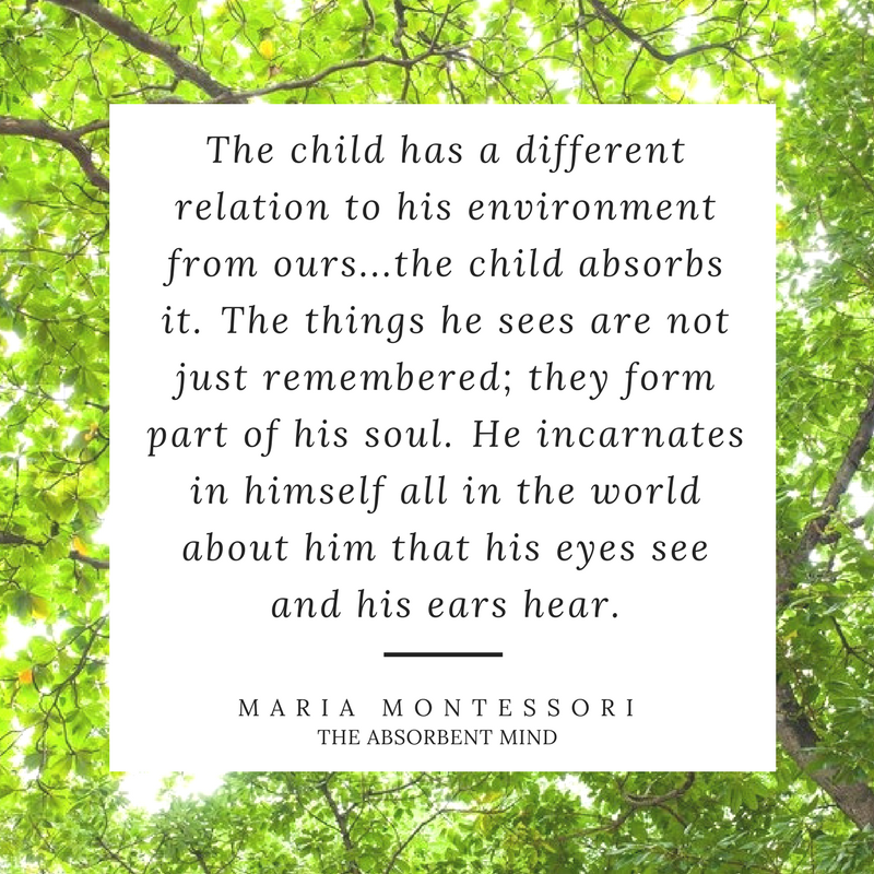 Maria Montessori Quotes for parents - the best Montessori Quotes about infancy. A short summary of essential quotes for parent's starting their Montessori journey.