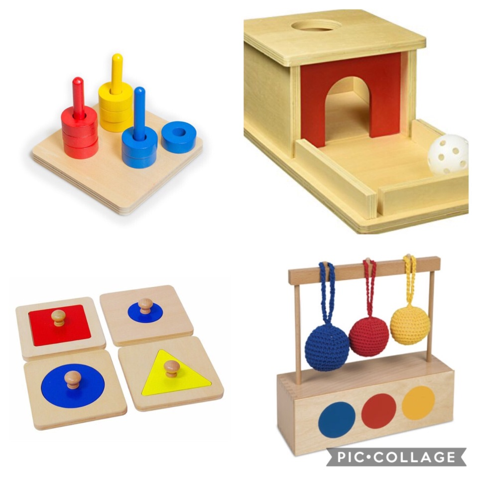Functional Play and Montessori Infant Materials
